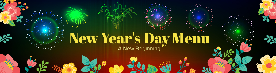 New Year's Day Menu - A New Beginning