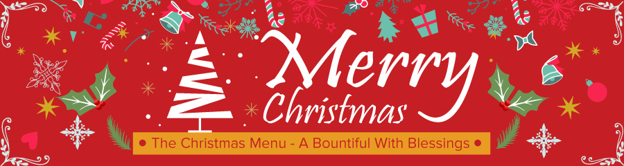 The Christmas Menu - A Bountiful With Blessings