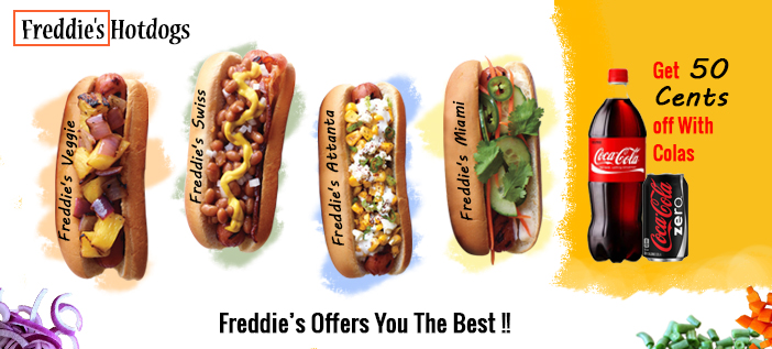 The Hot Dog Fast Food And Digital Signage