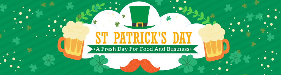 St Patrick's Day Menu Boards for 2019 from DSMenu