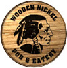 Wooden nickel pub and eatery