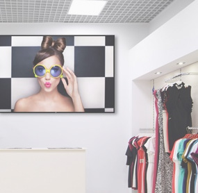 Digital menu boards for retail stores