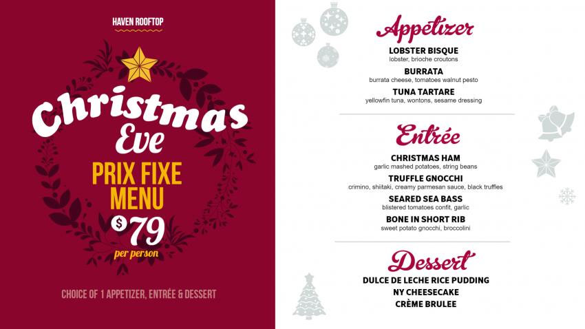 Restaurant Christmas Menus 2021 Free Restaurant Menu Dsmenu