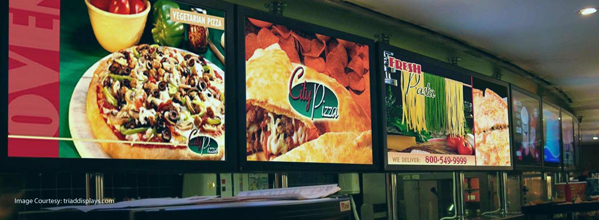 Innovative Food Marketing With Digital Menu Boards
