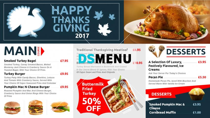 Restaurant menu design software with free download