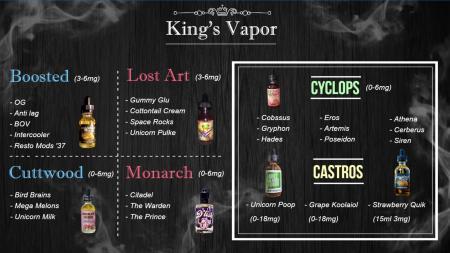 vapor menuboard | Digital Signage Template