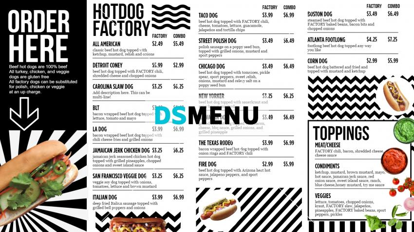 hot-dog-signage-menu