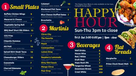 citruscitygrille-happy-hour-02 | Digital Signage Template