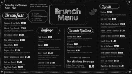 brunch-chalk-menuboard-dsmenu-03 | Digital Signage Template