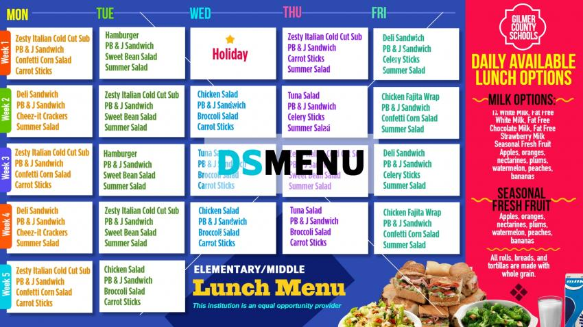 How to make digital menu online for school in cheap rate