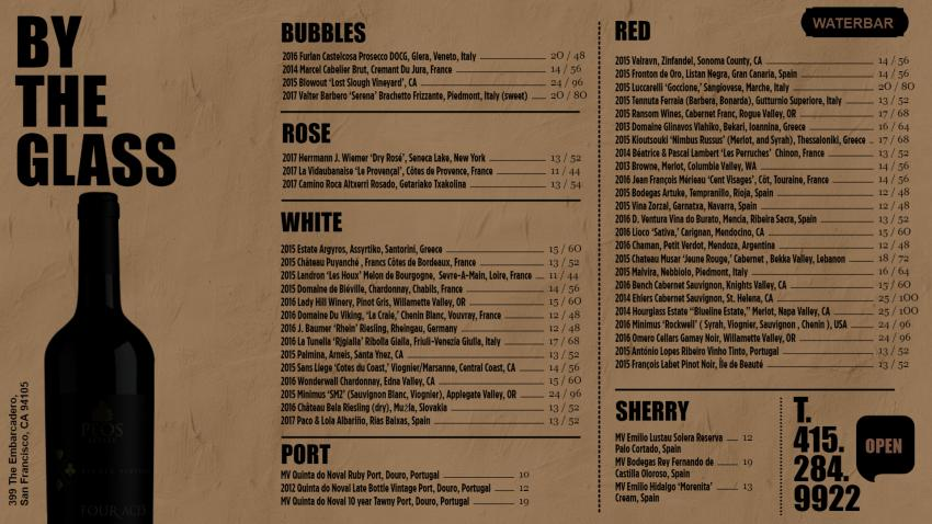 Bar and Drinks Menu for Digital Signage to grow business upto 40%